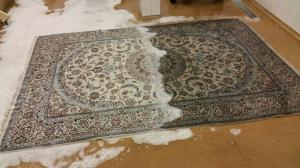 Tvätt av äkta mattor